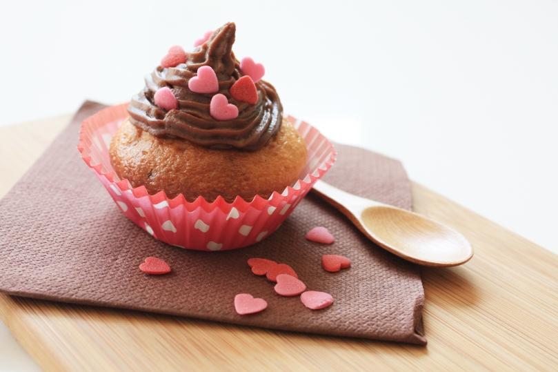 Cupcake chocolat banane