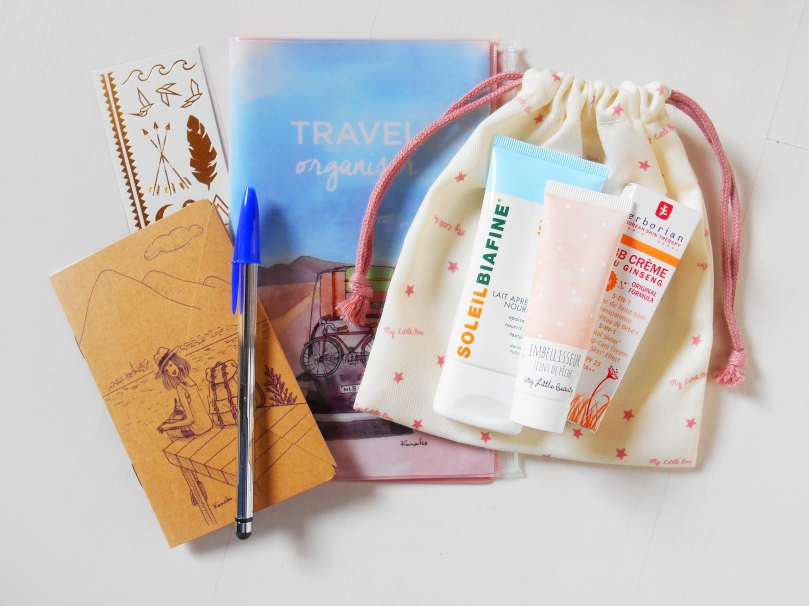 Little road trip box Juillet 2015