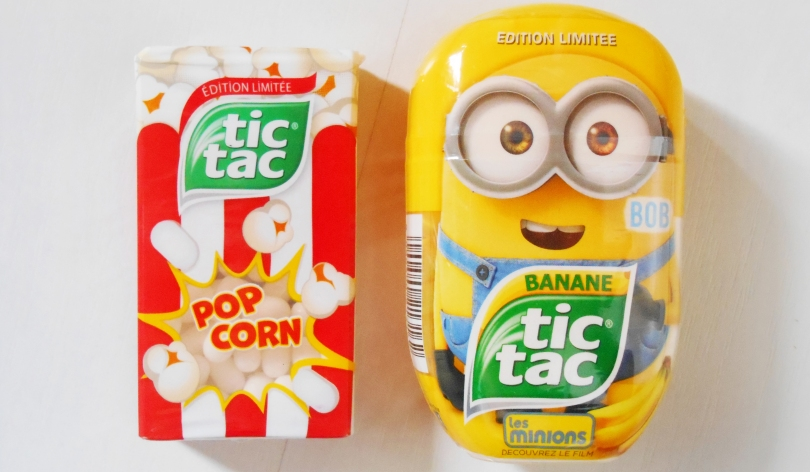 Tic Tac Minions Pop Corn