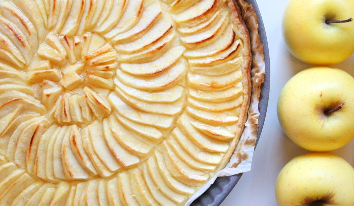 tarte aux pommes gourmande ptitboutdevie