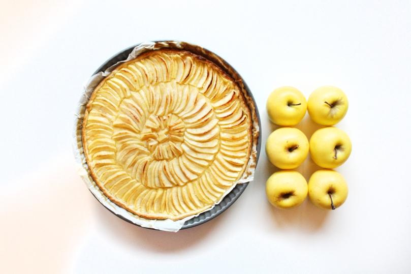 Tarte aux pommes gourmande